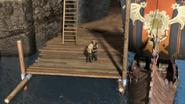 Ruffnut takes Throk's hand