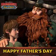 RoB HTTYD1 Father's Day promo