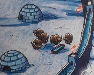 Yaks in The Ice Castle