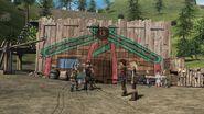 The wall market - beserker Island
