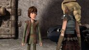 Astrid questions Hiccup's name choice