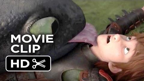 How To Train Your Dragon 2 Movie CLIP - Dragon Kisses (2014) - Gerard Butler Sequel HD