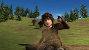 Hiccup keep sliding
