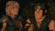 Astrid and Snotlout Friendship