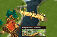 Bridge to Odin's Footprint