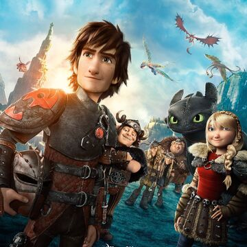 How To Train Your Dragon 2 2014 Movie Poster