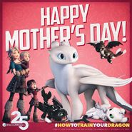 Happy Mothers Day 2020 HTTYD