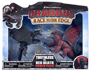 Toothless Vs. Red Death Power Pack