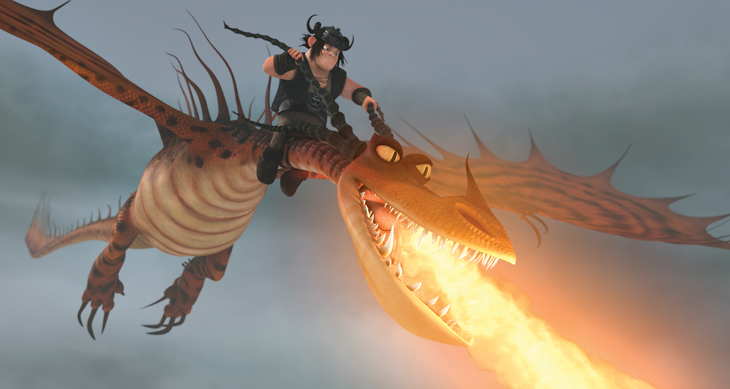 How to Train Your Dragon 9 The Hidden world Monstrous Nightmare Hookfang