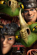 How to train your dragon 2 - Ruffnut, Tuffnut, Barf and Belch