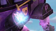 CU - The power blast bouncing off the mechano-dragon