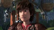 Hiccup as he accidentally called Thor Bonecrusher 'Fishlegs'