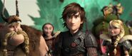 Hiccup now the chief of berk