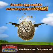 Gronckle Egg Hatching