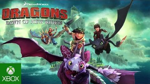 DreamWorks Dragons Dawn of New Riders - Teaser Trailer