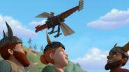 MM - The mechano dragon airborne