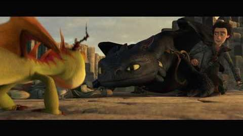 """HOW TO TRAIN YOUR DRAGON - """"Dragons Aren't Fireproof"""" Official Clip"""