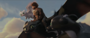 Hiccup, Nuffink Toothless, and Nightlights