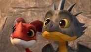 CU - Aggro and Cutter seeing the mechano dragon fail