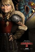 Astrid and Stormfly Movie Poster