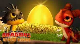 Promo DRAGONS RESCUE RIDERS HUNT FOR THE GOLDEN DRAGON