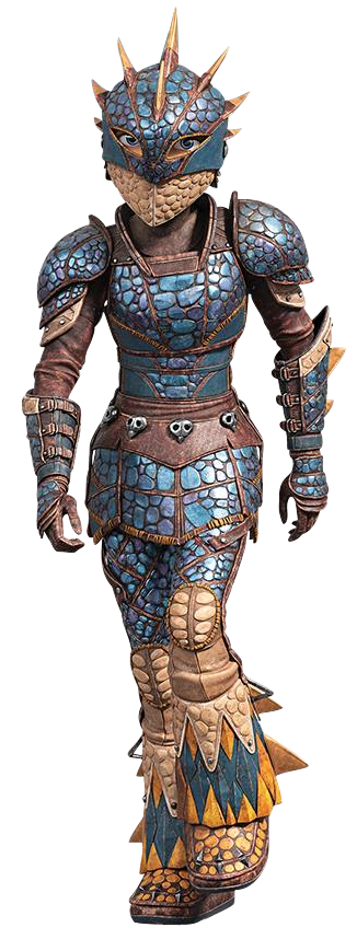 Astrid How to Train Your Dragon the Hidden World scale armor