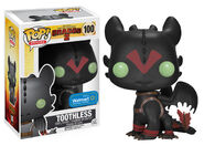 HOW TO TRAIN YOUR DRAGON 2 RACING STRIPES TOOTHLESS POP! VINYL FIGURE