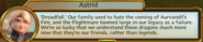 Astrid - History of Dreadfall