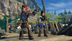 King of Dragons, Part 2 title card
