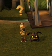 Ruffnut and a Hobgobbler