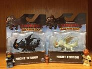 Black & White Night Terror Mini Dragons Packages