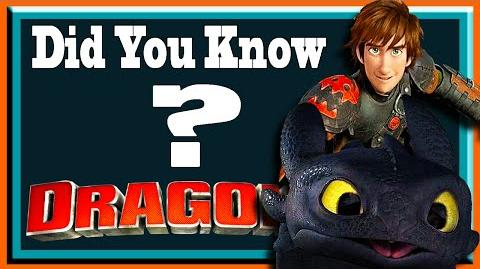 Did You Know? - HOW TO TRAIN YOUR DRAGON