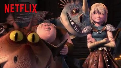 Dragons Race to the Edge Theme Song Netflix