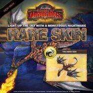 Nightmare Ashen Skin