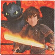 How to Train Your Dragon Lunch Napkins, 16 Count, Party Supplies