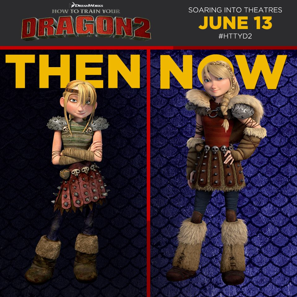 Image astrid then and nowg how to train your dragon wiki astrid then and nowg ccuart Choice Image