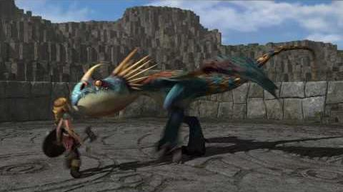 "DreamWorks' ""How To Train Your Dragon"" - Dragon Training Lesson 1 The Deadly Nadder"