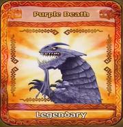 Purple Death Card