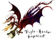 Triple header rageblast