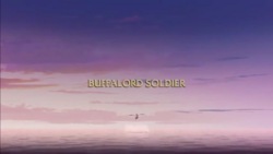 Buffalord Soldier title card