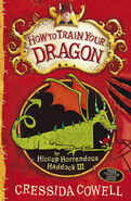 How to Train Your Dragon Newer British Cover