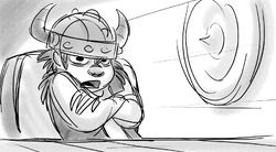 How to train your dragon storyboard 3