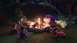 SH - Everyone by a campfire