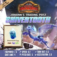 Shivertooth SoD