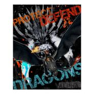 Protect. Defend. Dragons. Poster