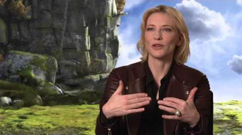 HOW TO TRAIN YOUR DRAGON 2 - Cate Blanchett (Valka) Interview