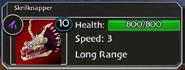 Skrillknapper Dragon Tactics Stats
