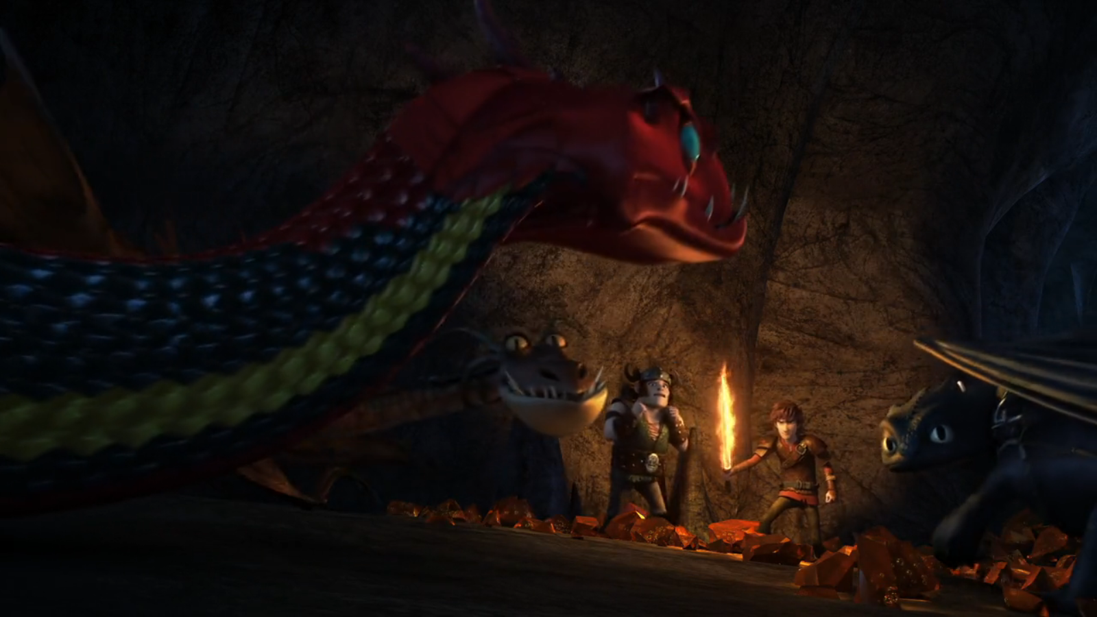 how to train your dragon tinight dragon