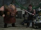 Fishlegs' Gronckle Iron Sword