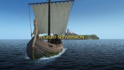 A Gruff Seperation title card